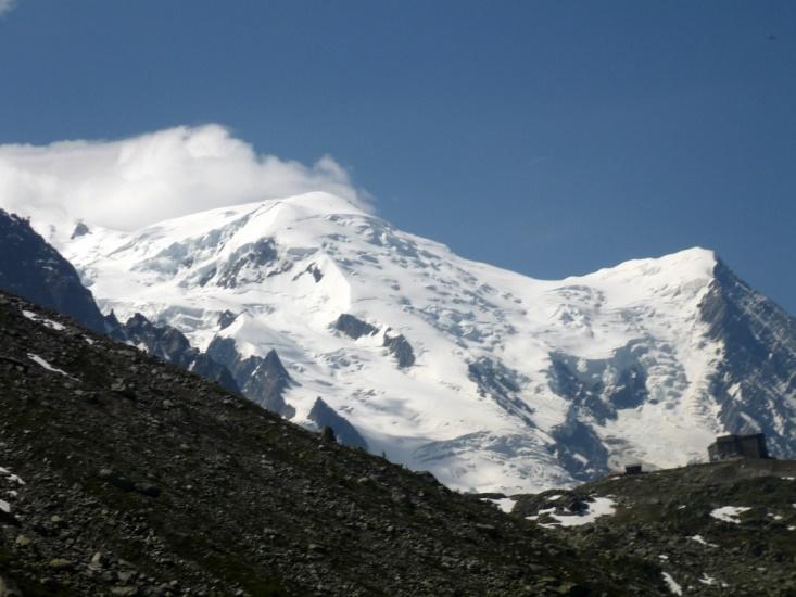 Grand Balcon Nord: View of Mont Blanc  - © flickr user- Mirko Tobias Schafer