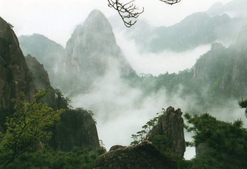 Huangshan -  - © William Mackesy