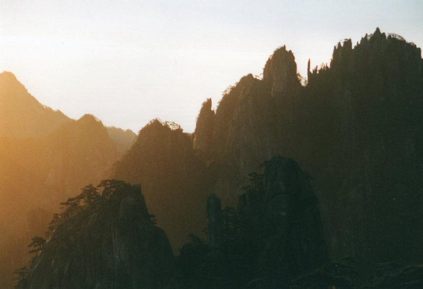 Huangshan -  - © William Mackesy