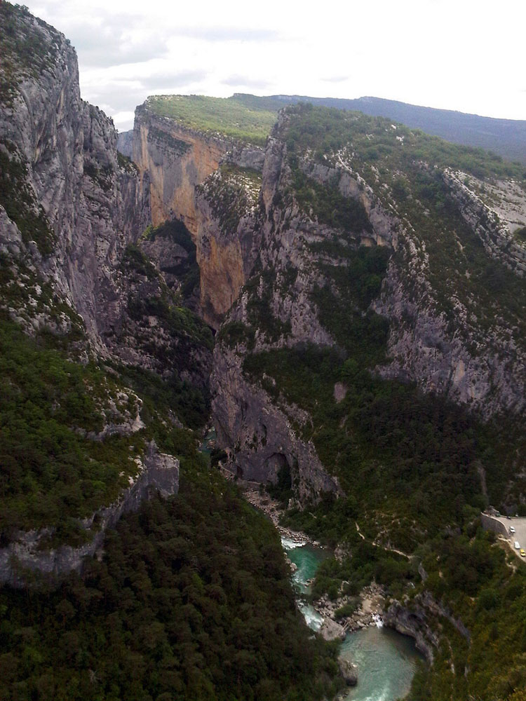 Les Gorges du Verdon - © By Flickr user Josef Grunig