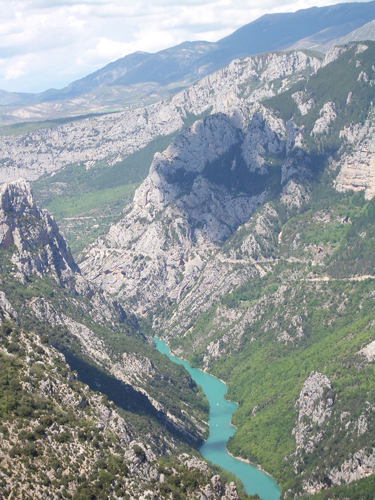Gorges du Verdon - © By Flickr user stev.ie
