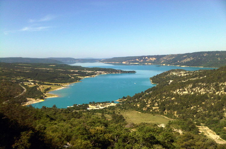 Lac de Ste-Croix - © By Flickr user Josef Grunig