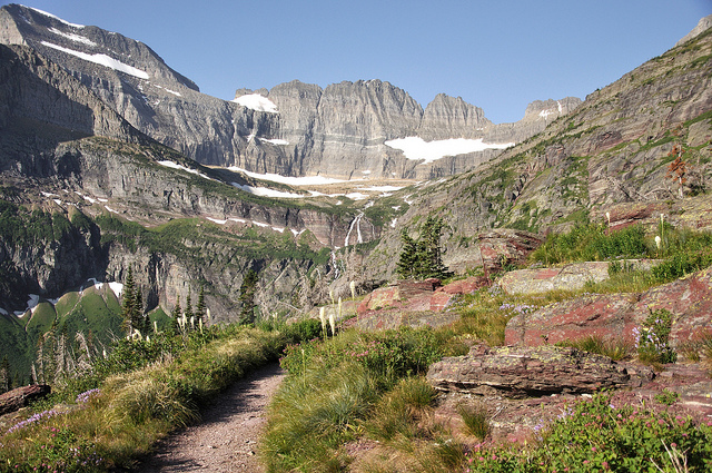 Grinnell Glacier Trail - © Copyright Doug Mcmain for NPS