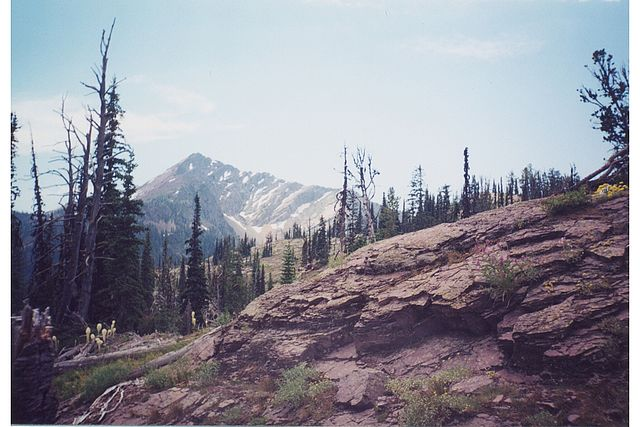 The Bob Marshall Wilderness - Carmine Peak in the Swan range - © Copyright Flickr User JohnDavidStutts