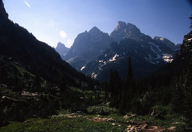 Paintbrush/Cascade Loop: Paintbrush/Cascade - Cascade Canyon - © Copyright Flickr User Listen Missy!