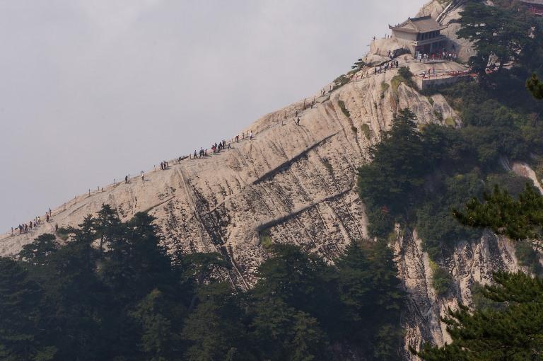 Hua Shan: Hua Shan - West Peak - © flickr- tefl Search