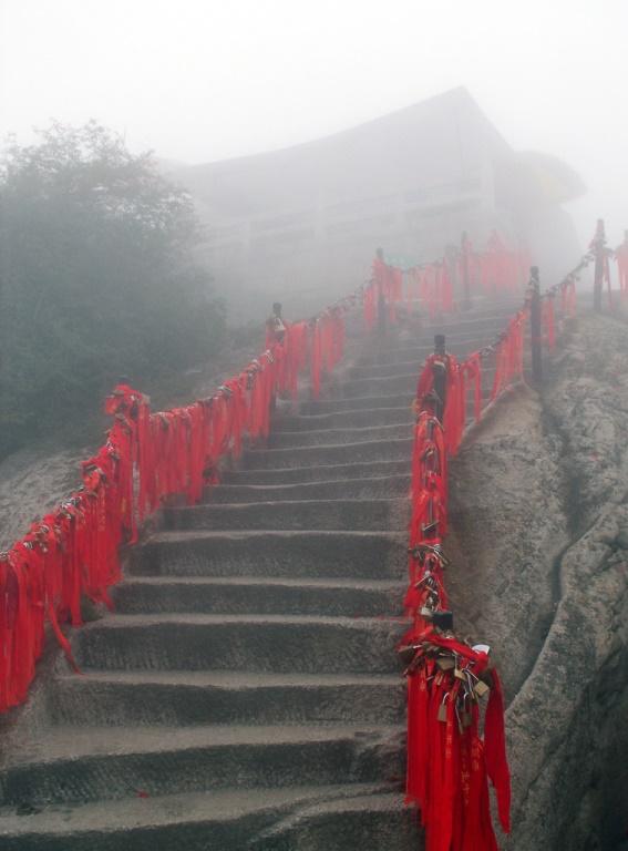 Hua Shan: © flickr user- Bill Tyne