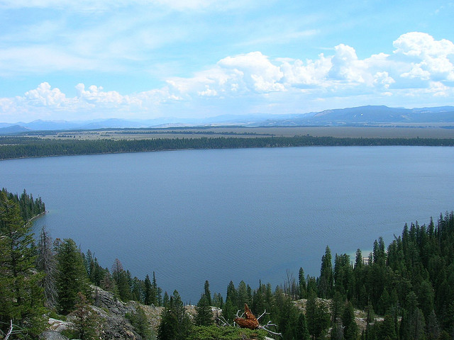 Grand Teton National Park - Inspiration Point - © Copyright Flickr User norrisbaby