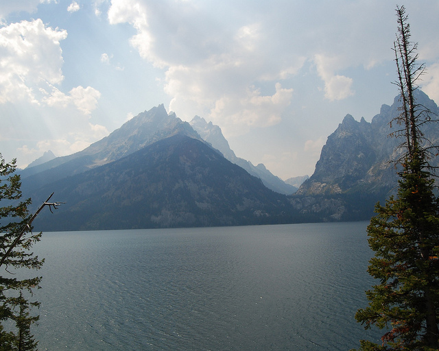 Grand Teton National Park - Tetons across Jenny Lake - © Copyright Flickr User jemartin03