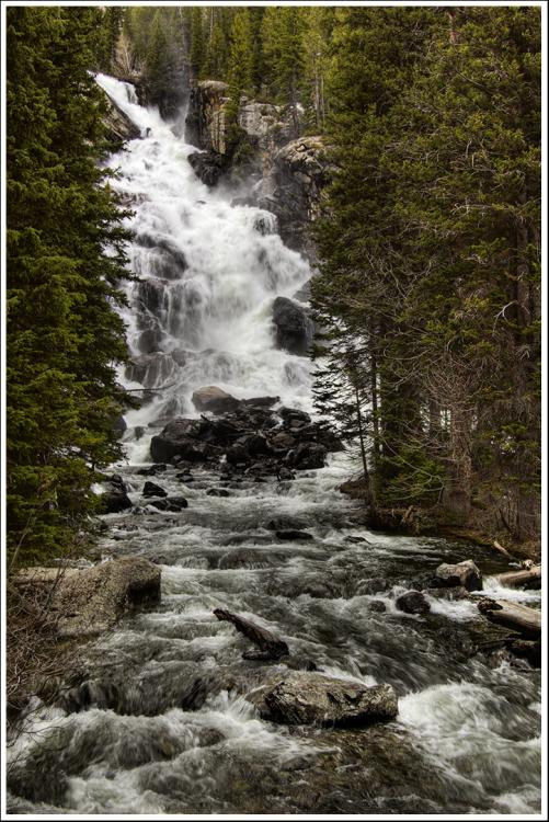 Grand Teton Loop: Grand Teton Loop - Hidden Falls - © Copyright Flickr User .Bala