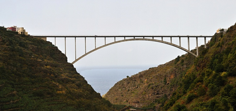 Spain Canary Islands: La Palma, Los Tilos, Los Tilos - Puente de Los Tilos, Walkopedia