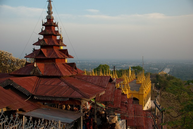 Mandalay Hill: Mandalay Hill - © Copyright Flickr user onourownpath.com