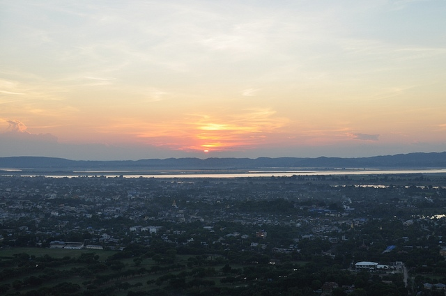Mandalay Hill: Mandalay Hill - sunset at Mandalay Hill - © Copyright Flickr user scotted400