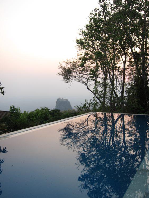 Mt Popa - © From Mt Popa resort - © Copyright William Mackesy