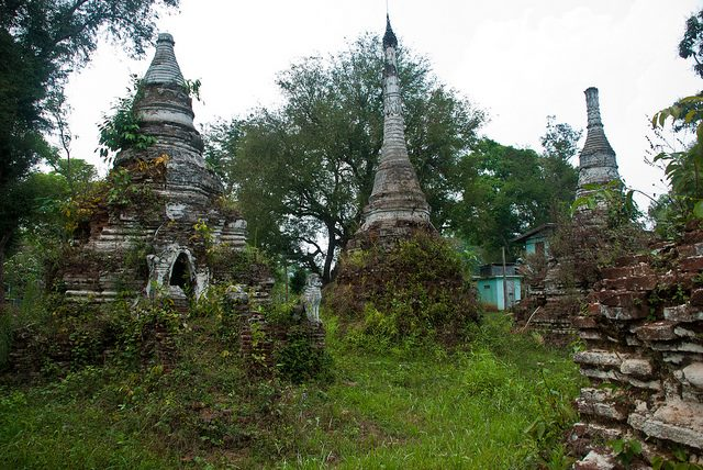 Hsipaw and Nanshan: Hsipaw & Nanshan - Little Bagan - © Copyright Flickr user onourownpath.com