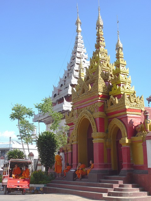 Kengtung - temple in Kengtung - © Copyright Flickr user jbeaulieu