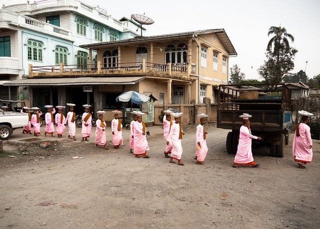 Pyin U Lwin - nuns - © Copyright Flickr user ninjawil