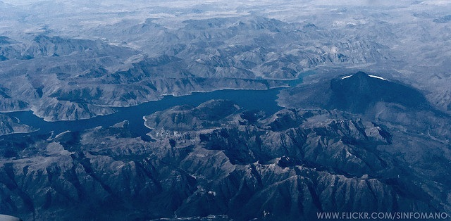 Laguna del Laja NP - Topography - © Copyright Wikimedia Commons sinfomano