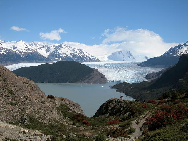Chile Patagonia: Torres del Paine NP, Lago Pingo, Lago Pingo - Glacier Grey, Walkopedia