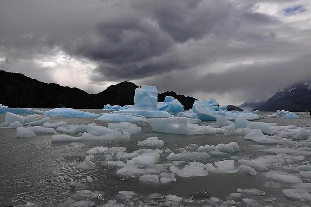 Chile Patagonia: Torres del Paine NP, Lago Pingo, Lago Pingo - Lago Grey, Walkopedia