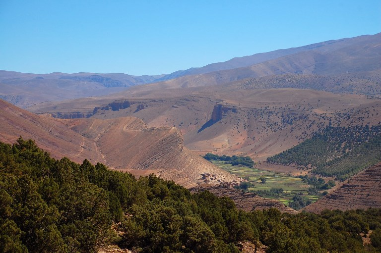 M'goun Massif: Tabant, Ait bou Goumez Valley  - © sturky flickr user