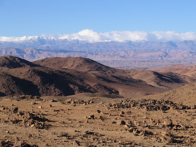 M'goun Massif: view on the Atlas mountains   - © Lucsaflex flickr user