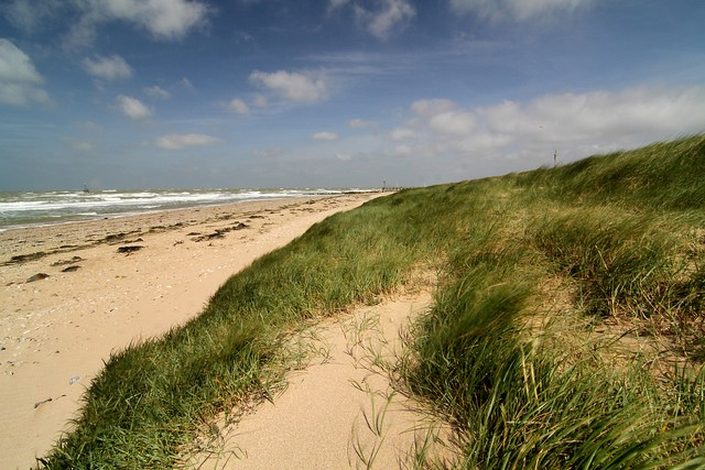 D-Day Beaches: D-Day Beaches - Juno - © Copyright Flickr user nathangibbs