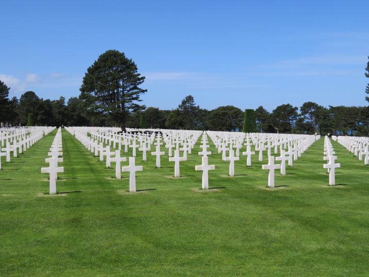 France Normandy, D-Day Beaches, Omaha Cemetary, Walkopedia