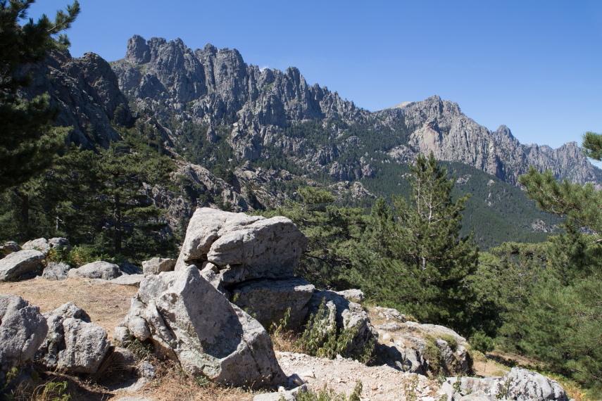 Cucuruzzu, Capula en Col de Bavella  - © flickr user Carolien Coenen 2