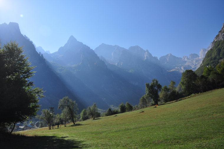 Albania, Peaks of the Balkans Trail, Grebaja valley, Walkopedia