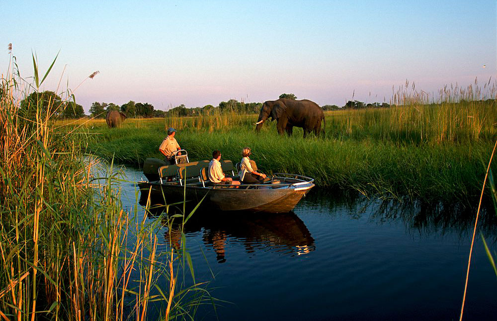 River Cruising in the Okavango Delta   - © wiki user Kgosi Kai