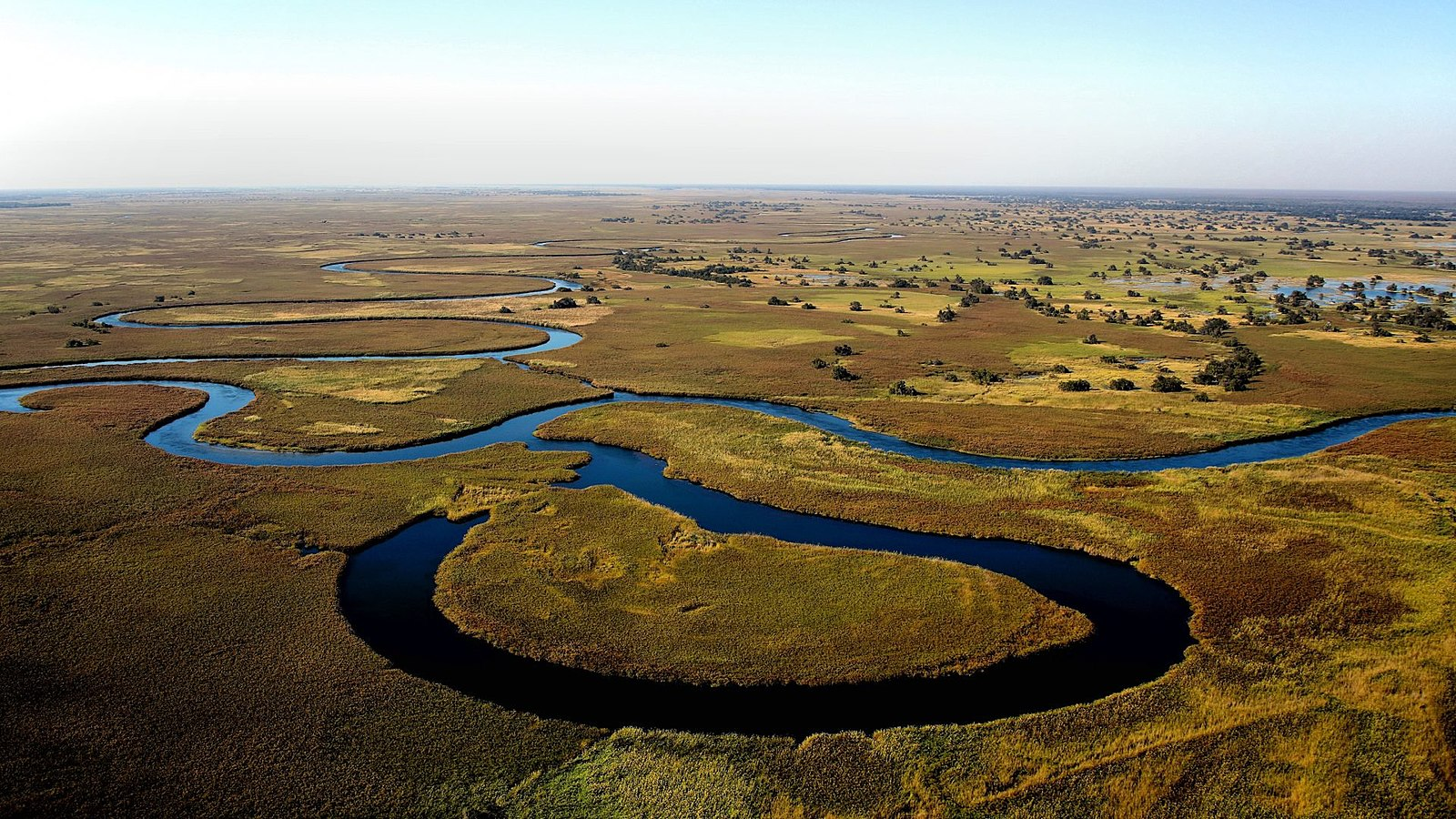 The Okavango Delta  - © wiki user Kgosi Kai