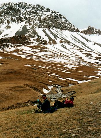 Toward the high pass
