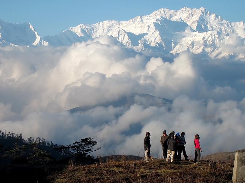 Kanchenjunga from Sandakphu, evening light